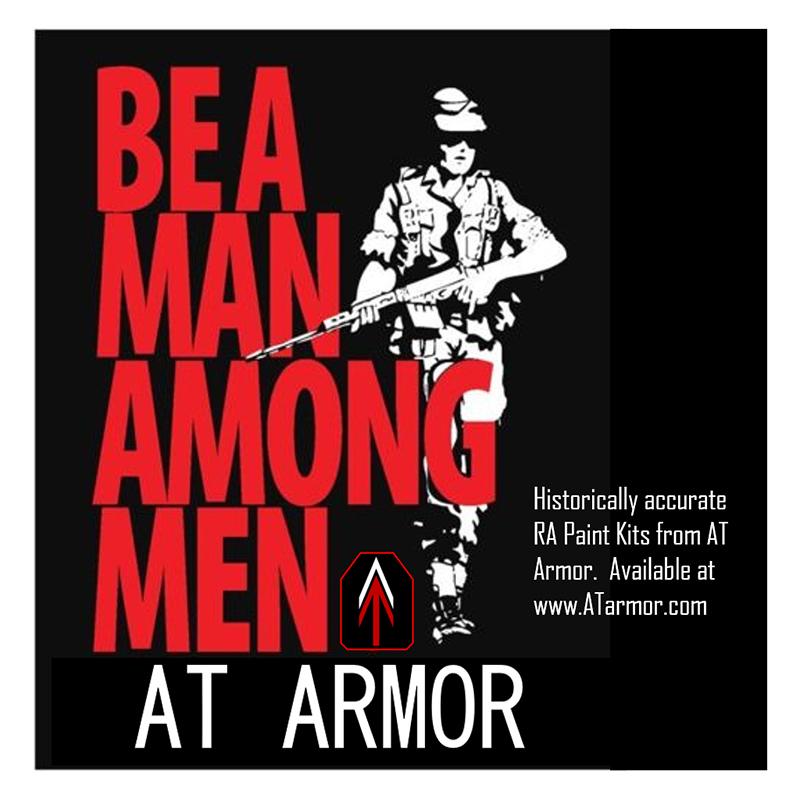 AT Armor introduces the retro Rhodesian Army camo paint kit